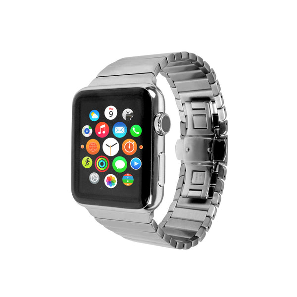 Apple Watch / Sport / Edition 38 42 mm Sliver Link Bracelet Stainless Steel Strap Band Bracelet for Apple Watch / Apple Watch Sport / Apple Watch Edition