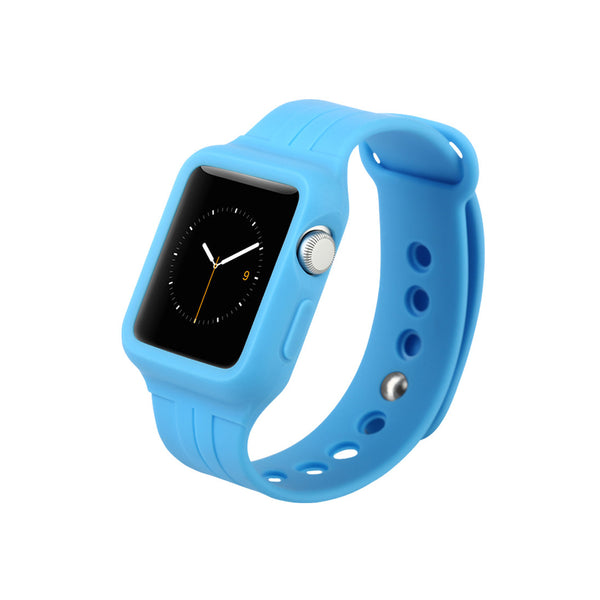 Blue Sport Watch Band for Apple WATCH 38 mm / 42 mm by DecoWrist.com