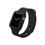 Black Sport Watch Band for Apple WATCH 38 mm / 42 mm by DecoWrist.com