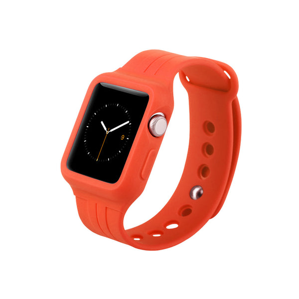 Red Sport Band Strap for Apple Watch / Apple Watch Sport 38 42 mm by DecoWrist.com
