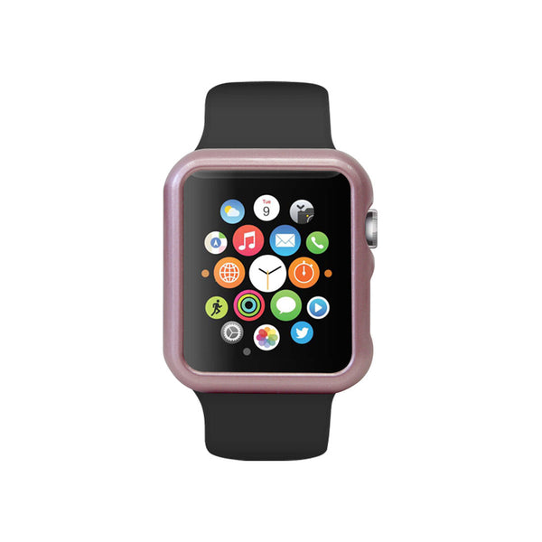 Rose Pink Ultra Slim Hard Snap On Case for Apple Watch / Apple Watch Sport ( 42mm / 38mm)
