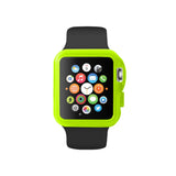 Transparency Green Ultra Slim Soft Silicon Snap On Case for Apple Watch / Apple Watch Sport ( 42mm / 38mm)