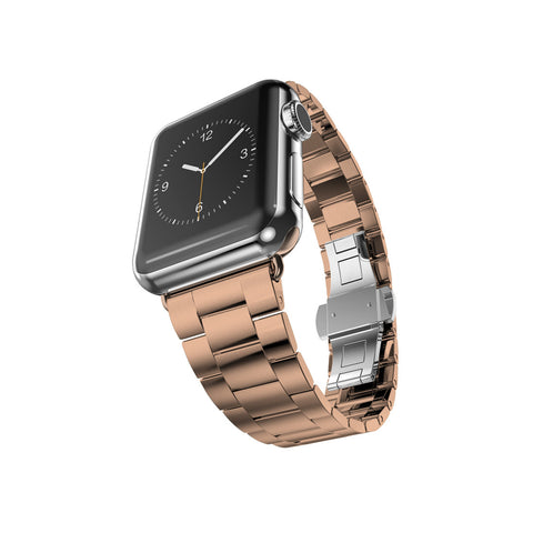 Rose Gold Stainless Steel Strap Band Bracelet for Apple Watch / Apple Watch Sport / Apple Watch Edition