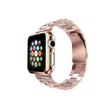 Rose Gold Stainless Steel Strap Classic Adapter Bucklet Watch Band for Apple Watch / Apple Watch Sport / Apple Watch Edition