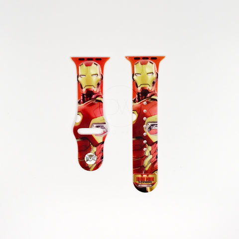 Authentic Disneyland Disney Marvel Ironman Red 42mm Apple Watch Band