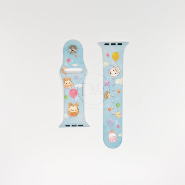 Authentic Disneyland Disney ufufy blue 42mm Apple Watch Band