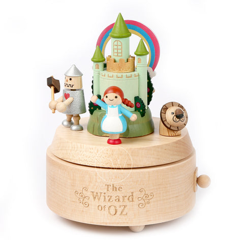 The Wizard of OZ Wooden Merry Go Around Music Box