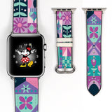 Disney Theme Park Attractions It a small world Inspired 38 40 42 44 mm Soft Silicon Sport Strap Apple Watch Band -v680