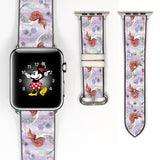 Disney Princess Ariel the little mermaid Inspired 38 40 42 44 mm Soft Silicon Sport Strap Apple Watch Band -v918