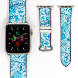 Disney Theme Park Mickey Mouse Inspired 38 40 42 44 mm Soft Silicon Strap Apple Watch Band -v894