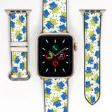Disney Toy Story Space Aliens Inspired 38 40 42 44 mm Soft Silicon Sport Strap Apple Watch Band -v104