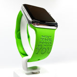 Star Wars Baby Yoda May force be with you inspired Laser Engraved Apple Watch Band