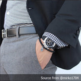 Perlon Strap Black Color 20mm by decowrist.com