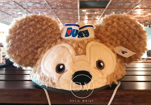 Authentic Disney Parks Duffy and Friend Duffy Bear Mickey Ears Hat - Adult