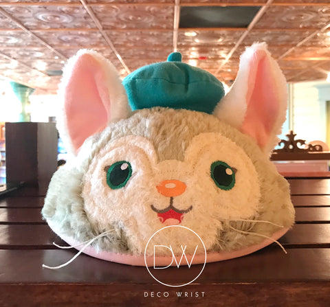 Authentic Disney Parks Duffy and Friend Gelatoni Cat Mickey Ears Hat - Adult