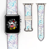 Disney Princess Ariel the little mermaid Inspired 38 40 42 44 mm Soft Silicon Sport Strap Apple Watch Band -v751