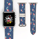 Disney Princess Ariel the little mermaid Inspired 38 40 42 44 mm Soft Silicon Sport Strap Apple Watch Band -v832