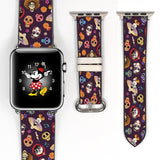 Disney pixar CoCo Inspired 38 40 42 44 mm Soft Silicon Sport Strap Apple Watch Band Blue -v853