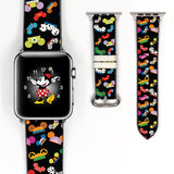 Disney Mickey Mouse Hat dooney bourke ear hat i am Inspired 38 40 42 44 mm Soft Silicon Sport Strap Apple Watch Band -v608