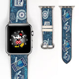 Disney Cruise Mickey Mouse Inspired 38 40 42 44 mm Apple Watch Band -v652
