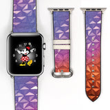Disney space Epcot 38 40 42 44 mm walk in the park Soft Silicon Sport Strap Apple Watch Band -v723