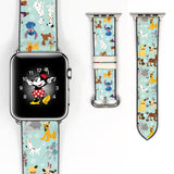 Disney Dogs Inspired 38 40 42 44 mm Soft Silicon Sport Strap Apple Watch Band -v656