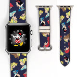 Disney Princess Ariel the little mermaid aurora beauty and the beast belle, cinderella, snow white Inspired Apple Watch band
