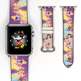 Disney Princess Inspired 38 40 42 44 mm Soft Silicon Sport Strap Apple Watch Band -v144
