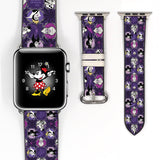 Disney Villains 38 40 42 44 mm Evil Queen Ursula Soft Silicon Sport Strap Apple Watch Band -v839