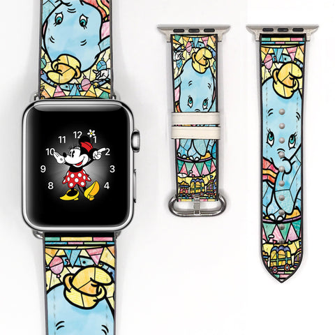 Disney Dumbo Flying Elephant Inspired Apple Watch band for 38mm / 40mm, 42mm / 44mm