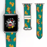 Disney Lion King simba Inspired 38 40 42 44 mm Soft Silicon Sport Strap Apple Watch Band -v826