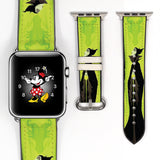 Disney Villains maleficent Inspired 38 40 42 44 mm Soft Silicon Sport Strap Apple Watch Band -v575