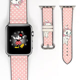 Disney Marie cat aristocats Inspired 38 40 42 44 mm Soft Silicon Sport Strap Apple Watch Band -v170