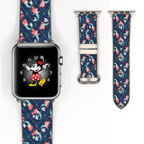 Disney Princess Ariel the little mermaid Inspired 38 40 42 44 mm Soft Silicon Sport Strap Apple Watch Band -v709