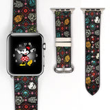 Disney Star Wars inspired damask darth vader cp30 r2d2 stormtrooper 38 40 42 44 mm Soft Silicon Sport Strap Apple Watch Band -v845
