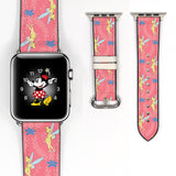 Disney Tinker Bell Inspired 38 40 42 44 mm Soft Silicon Sport Strap Apple Watch Band -v467