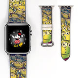Disney Toy Story Space Aliens Inspired 38 40 42 44 mm Soft Silicon Sport Strap Apple Watch Band -v492