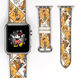 Disney Toy Story Woody Inspired 38 40 42 44 mm Soft Silicon Sport Strap Apple Watch Band -v823