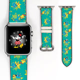 Disney Toy Story Bunny and Ducky Inspired 38 40 42 44 mm Soft Silicon Sport Strap Apple Watch Band -v817