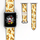 Disney Winnie the pooh Tigger Inspired 38 40 42 44 mm Soft Silicon Sport Strap Apple Watch Band -v695