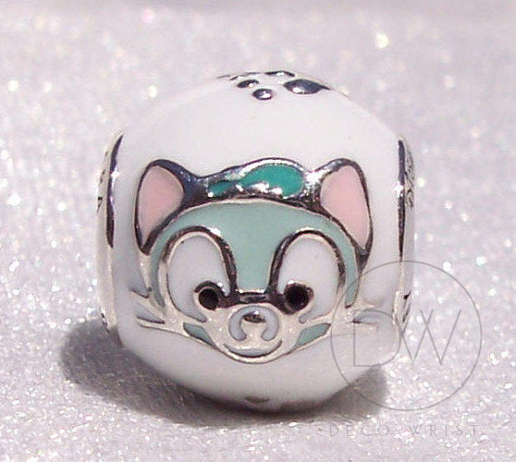 Disney, Gelatoni, A Disney Friend of Duffy Bear Charm by Pandora