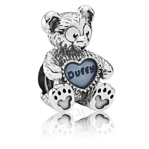 Disney, Duffy the Disney Bear Charm by Pandora