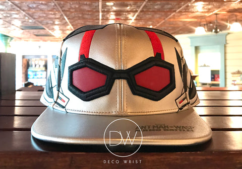 Authentic Disney Parks Marvel Hero Avengers Ant-man Head Adjustable Cap - Adult