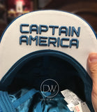 Authentic Disney Parks Marvel Hero Captain America Cap - Adult
