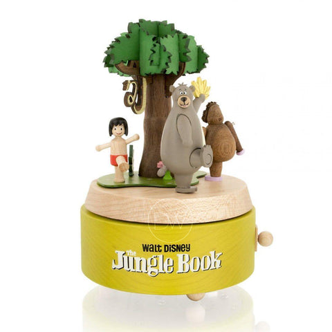 Disney The Jungle Book Wooden Merry Go Around Music Box
