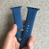 Star Wars R2D2 inspired Laser Engraved Apple Watch Band