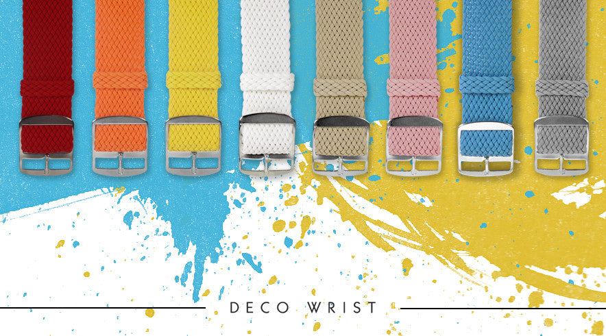 Perlon Strap 20mm by decowrist.com