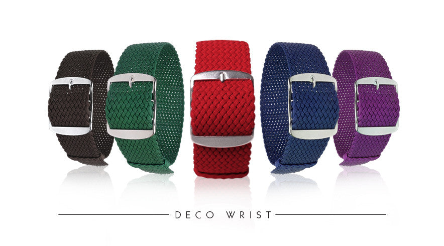 Perlon Strap Watch band by decowrist.com