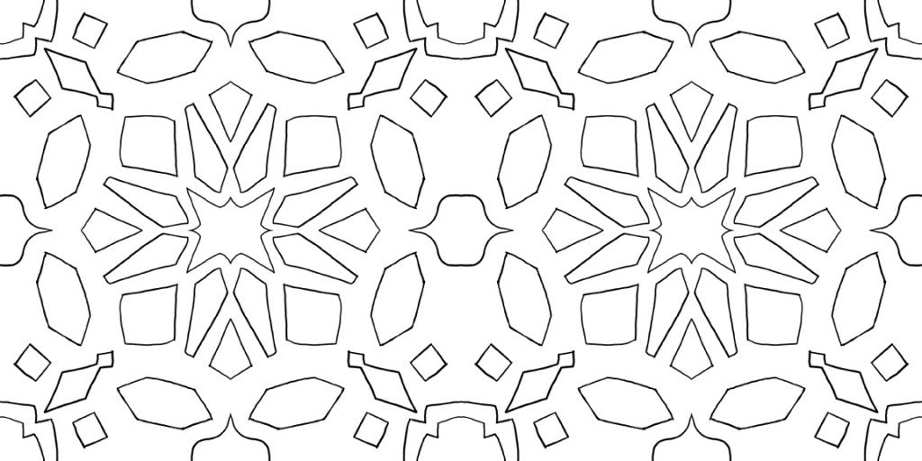 Souk full pattern drawing