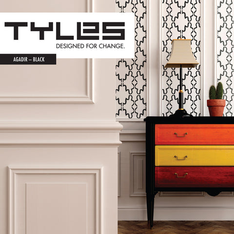 Tyles Agadir in Black